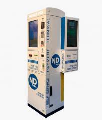 The automatic terminal of self-service at PSS