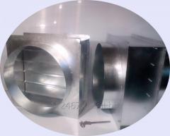 Обратный клапан для круглых и прямоугольных