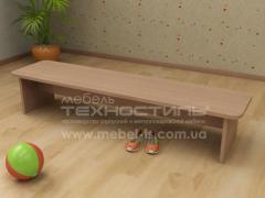 Мебель для детских комнат. Лавка детская