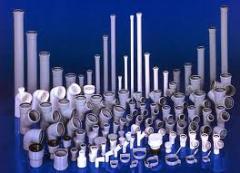 Трубы и соединительные детали для канализации