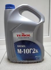 Масло моторное М-10Г2к 5л TEMOL