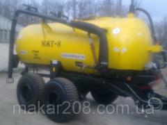 Бочка МЖТ-8 (для выкачки жижи,подвоза воды)