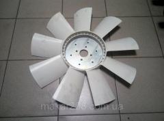 Крыльчатка вентилятора ЯМЗ238НБ; 238АК (9 лопастей) 238НБ-1308012Б2