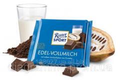 Chocolate Ritter Sport of dairy 35%. Ritter Sport