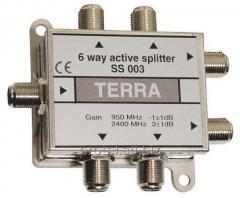 6-канальний активний дільник сигналу SS003