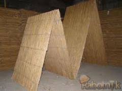 Cane mats, cane plates, sheaf