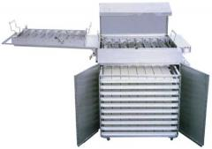 Deep fryers for frying of donuts of SP/SPA