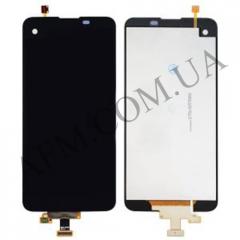 Дисплей (LCD) LG K5 X220 Dual Sim с сенсором черный