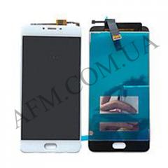 Дисплей (LCD) Meizu U20 с сенсором белый