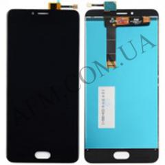Дисплей (LCD) Meizu U20 с сенсором черный