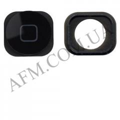 Накладка на кнопку (Home) для iPhone 5C black