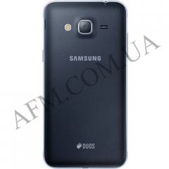 Задняя крышка Samsung J320H/  DS Galaxy J3 (2016) черная