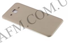 Задняя крышка Samsung J500H/  DS Galaxy J5 золотая