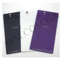 Задняя крышка Sony C6602/  C6603/  C6606 L36h Xperia Z фиолетовая