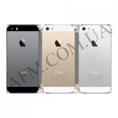 Задняя крышка корпус iPhone 5SE черная