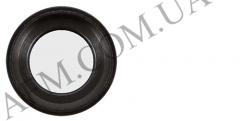 Стекло камеры iPhone 6S Plus чёрное + кольцо