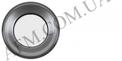 Стекло камеры iPhone 6S серебристое + кольцо