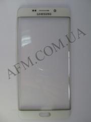Стекло экрана Samsung G928 Galaxy S6 EDGE+,   белое