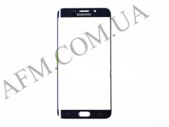 Стекло экрана Samsung G928 Galaxy S6 EDGE+,   синее