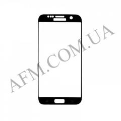 Стекло экрана Samsung G935F Galaxy S7 EDGE черное