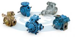 Pumps, Pump units from 0.5m3 to 8m3/h, with the