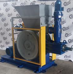 Пресс ударно – механический ПБ – 48. Производительность 250 – 450 кг/час. Оборудование для производства топливных брикетов типа nestro.
