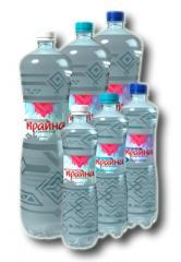Natural Mineral Water Carpathian Krayna