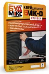 Клей для керамической плитки БМК-0 «Нулевка»