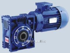 Червячный мотор-редуктор E с электродвигателем (серия EV), E063, 0.18 кВт