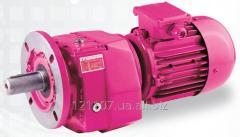 Цилиндрический соосный мотор-редуктор N