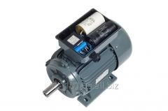 Однофазный электродвигатель с пусковым конденсатором/конденсатором для работы двигателя