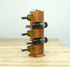 Wine rack under a bottle 0,7