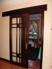Двери раздвижные межкомнатные из натурального