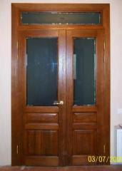 Двери межкомнатные с фрамугой