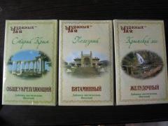 Травяные сборы в Украине, Чай травный