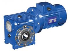 Мотор – редукторы червячные одноступенчатые тип МЧ 100