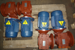 Мотор – редукторы червячные двухступенчатые тип МЧ2Ф в ассорт