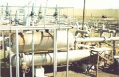 Gasfilter separator, gasfilter