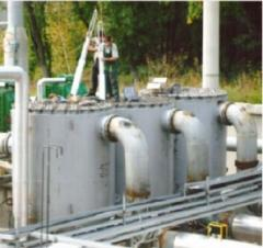 SEPARATOR FILTERS FOR CLEANING NATURAL AND