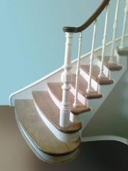 Лестницы деревянные под заказ Киев