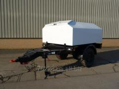 Fuel 2-axis trailer of 1500 lt.