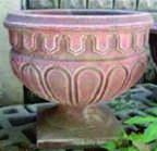 Forms fiberglass for flower beds