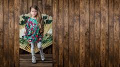 Children's dress Inflorescence