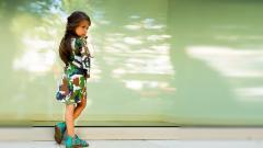 El vestido WV infantil