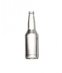 Стеклянная бутылка бесцветная для минеральной