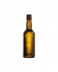 Стеклянная бутылка для пива коричневая 500 ml, Swing stopper