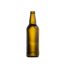 Стеклянная бутылка для пива коричневая 500 ml, Bartop