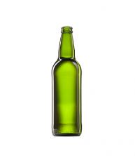 Стеклянная бутылка для пива, цвет кюве, 500 ml, Crown cork