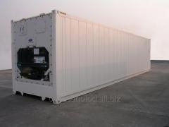 Refkonteyner with heating of 40 feet of Hi Cube bu