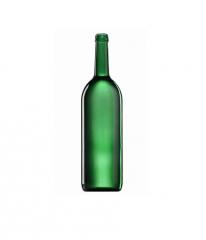 Стеклянная бутылка для вина 1000 ml, MCA, цвет зеленый
